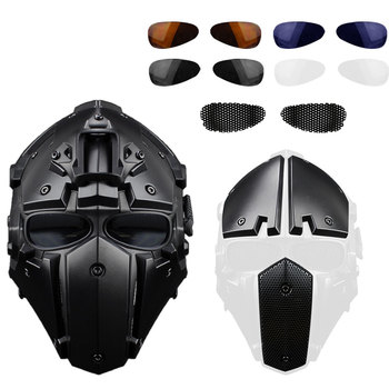 4 Colors Motorcycle Full Face Helmets Moto Racing Bicycle Tactical Helmet Protective Fit Military Training Outdoor Cycling