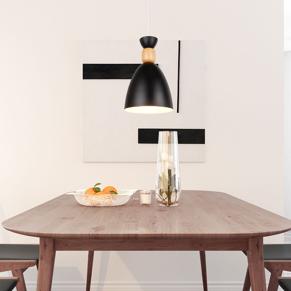 Dining Room Modern Lighting Us 23 19 41 Off Led Pendant Lamp Modern Hanging Lights Pendant Lighting Wood Modern Lighting For Restaurant Pendant Lighting Dining Room Bedroom In