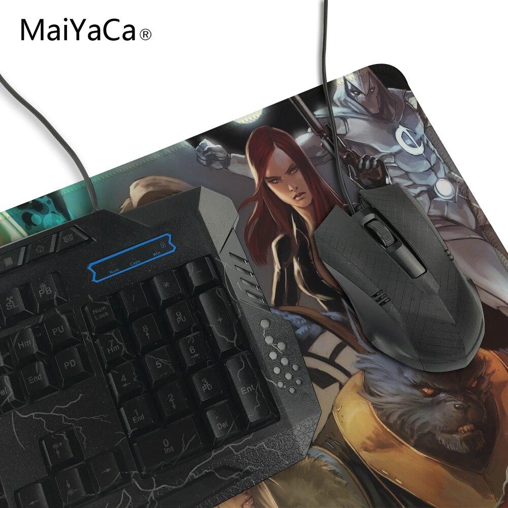 Maiyaca Мстители символ надежды аниме Мышь площадку для Мышь Notbook компьютерная Мышь Pad оверлок край большой игровой коврик