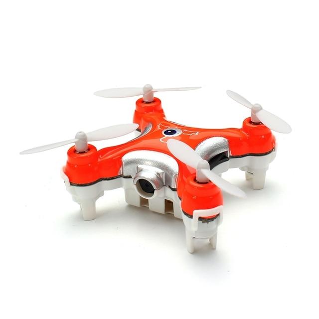 2016 Hot Sale Mini Drones Cheerson CX-10C CX10C Mini 2.4G 4CH 6 Axle RC Quadcopter with Camera RTF MODE2