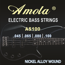 Amola AS100 .045-100 nickel alloy wound 4 Electric bass guitar strings HOT guitar parts