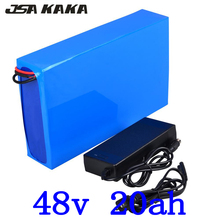 48V 1000W 2000W Lithium Battery 20AH lithium-ion battery Pack 20Ah Electric Bike with 50A BMS+54.6V 5A charger