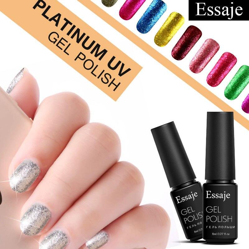 essaje platinum nail gel lacquer