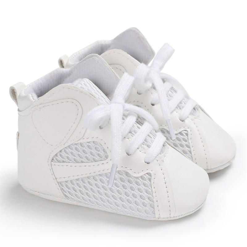Детские противоскользящие дышащие первые ходунки детские кроссовки из искусственной кожи для мальчиков Повседневное малыша обувь ...
