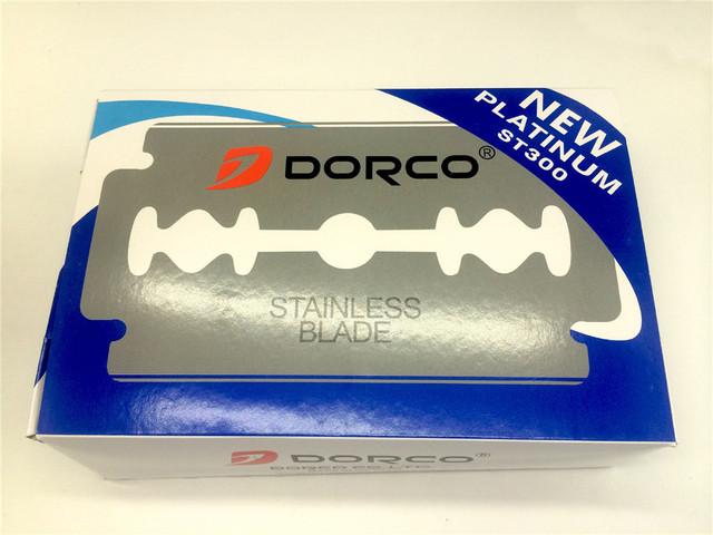 Dorco 20pcs Razor Blades Brand Stainless Steel Safety Razor Blades To Shave Blade To Razor For Men Lames De Rasoir Barber Blade