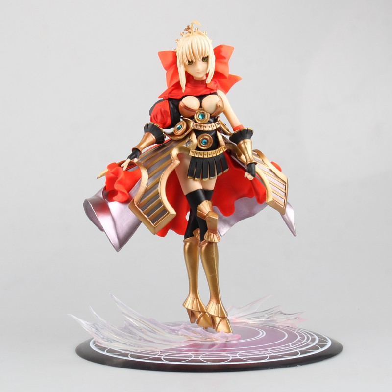 Anime Sexy Figure Fate/stay night Saber One Piece Ver.Pre-painted PVC Action Figure Collection Model Toys Doll 24cm anime fate stay night saber triumphant excalibur 1 7 painted pvc figure collection model jids toys gift collectible toy