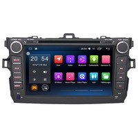 8 2 Din Android 6,0 Автомобильный мультимедийный плеер для Toyota Corolla 2011 2007 без DVD без CD автомобиля стерео аудио радио плеер