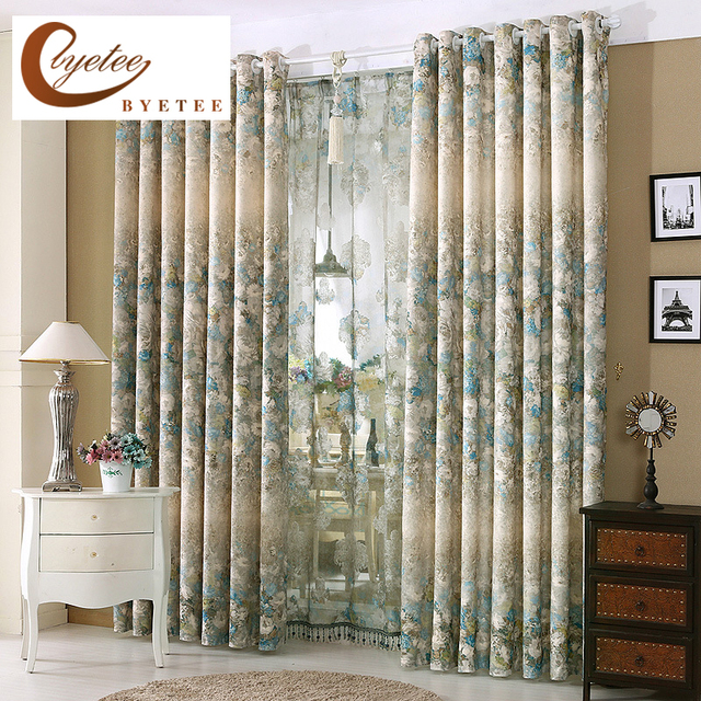 Merveilleux [byetee] Finished Window Curtain Fabrics Fabric Kitchen Curtains Doors For  Bedroom Living Room Bedroom