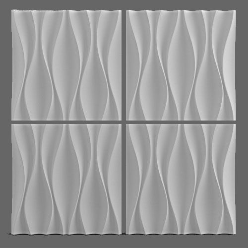 Plastic Wall DIY Plaster Mold 3D Decorative Wall Panels Price for 1