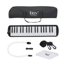 Черная гармоника irin с 37 клавишами черная мелодика стиль пианино