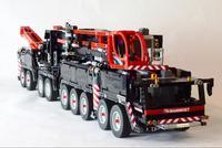 Новый MOC RC power function Crane LTM11200 либхер fit legoings моторная техника MOC 20920 наборы строительных блоков Кирпичи diy игрушка подарок