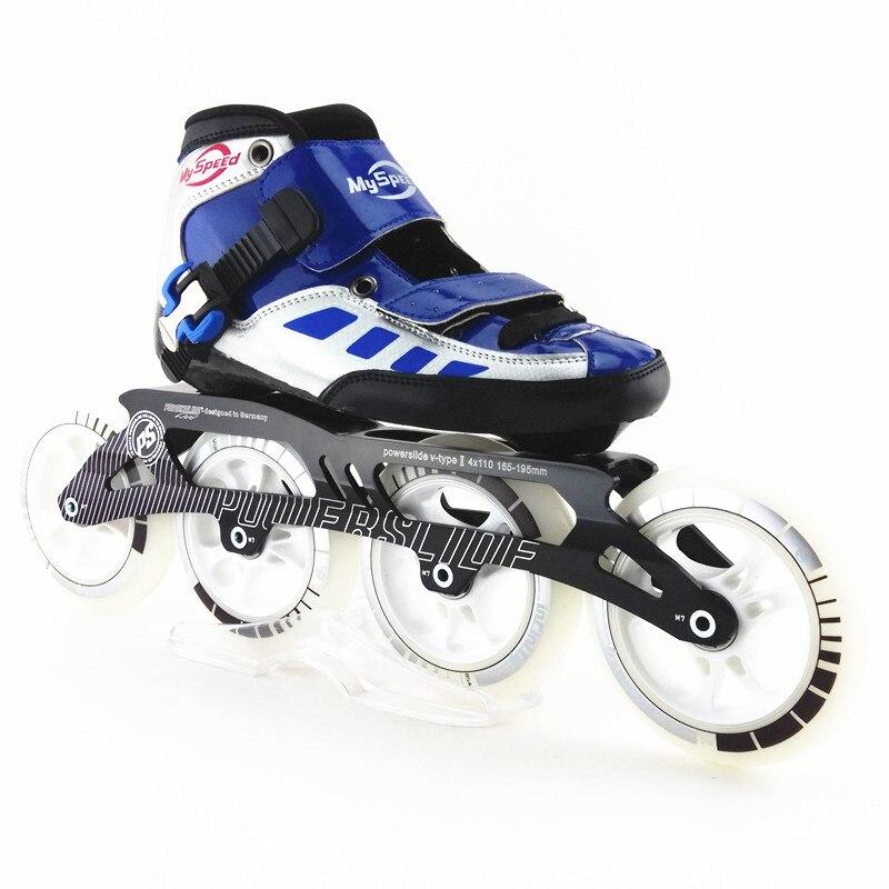 100% original xuansu inline speed skates 4x110 4x100 bauer vapor rh x50r inline skates 4 jr