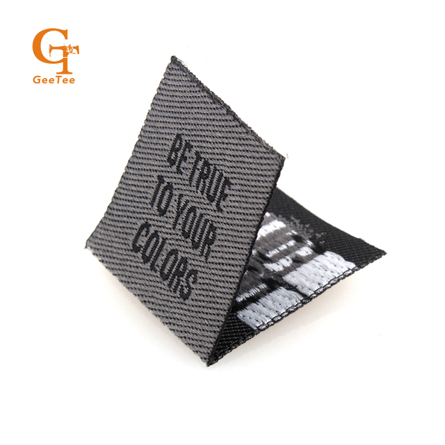 Customized Woven LabelsLogoPrinted ClothingBagShoesHat Sewing