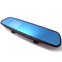 Blue Mirror 1080P HD Wide HD Driving Recorder 4 0 Inch 1080P Dual Camera Car Dvr