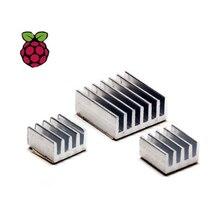 3/set Aluminum Heat Sink Copper Made Dissipate heat For Kit Raspberry Pi 3 Model B Board Rasp PI3 1GB RAM Quad Core For CPU