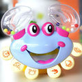 Lovely Crab Plastic Rattle Baby Wrist Separates Musicial Instrument Animal Toys For Kids 0 12 Months