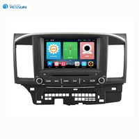 Yessun For Mitsubishi Lancer 2007~2013 Android Car Navigation GPS HD Touch Screen Audio Video Radio Stereo Multimedia Player.