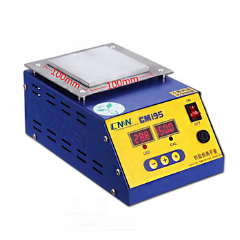100*100mm Digital Thermostat Platform Heating Plate Preheating Station For Phone Repair Screen Separator CM-195 constant temperature heating units heating platform preheating station platform led heating heating plate ansai946c