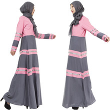 A006 One Pcs Muslim Ladies Outwearing Hot sale retaile sale without Hijab women Abaya Fashion One pcs Islamic Female dress