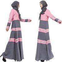 A006 One Pcs Muslim Ladies Outwearing Hot sale retaile sale without Hijab women Abaya Fashion One pcs Islamic Female dress