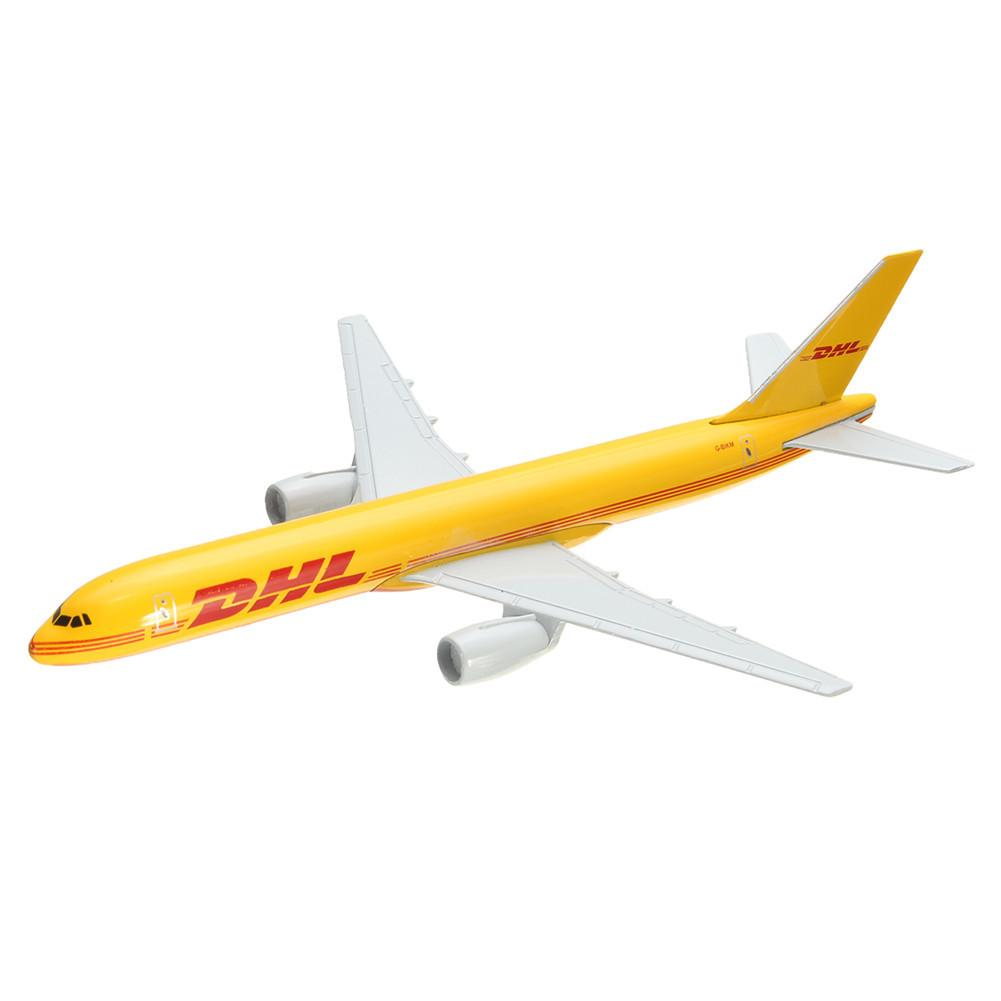 Image 3 - B757 DHL Kargo 16CM Metal Airplane Model Plane Model Aircraft  Model Building Kits Toy For Children-in Diecasts & Toy Vehicles from Toys & Hobbies