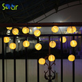 Lantern Ball Solar String Lights 5M 20 LED Solar Lamp Outdoor Lighting Fairy Globe Christmas Decorative Light for Party Holiday