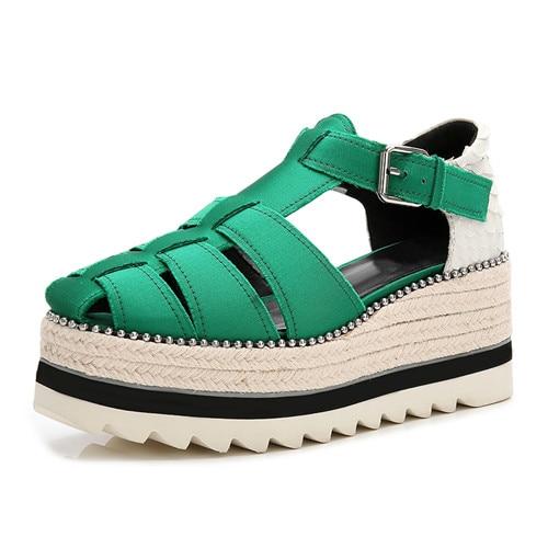 Plat Mujer Pic Semelles Appartements Zapatos Maille Sandales Véritable Compensées Cuir En Dames as De Femme Solides Chaussures À As Pic Air wqgwpf