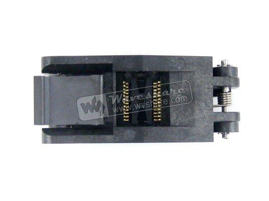 ФОТО module SSOP24 TSSOP24 FP-24-0.65-01A Enplas IC Test Burn-In Socket Adapter 5.6mm Width 0.65mm Pitch