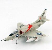 1/72 HA1423 US Navy A 4C Skyhawk attack aircraft model Kitty Hawk Favorites Model