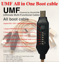 Umf オールインワンケーブル edl ため dfc 9800 モデルクアルコム/mtk/spd のための lg 56 18k/910 18k