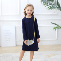 Baby Girl Dress Long Sleeve Autumn Winter Jersey Dress Princess Costume Cotton Children Toddler Dresses for Girls Kids Clothes