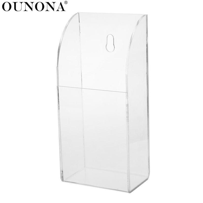 OUNONA 1 Grid TV Air Conditioner Remote Control Holder