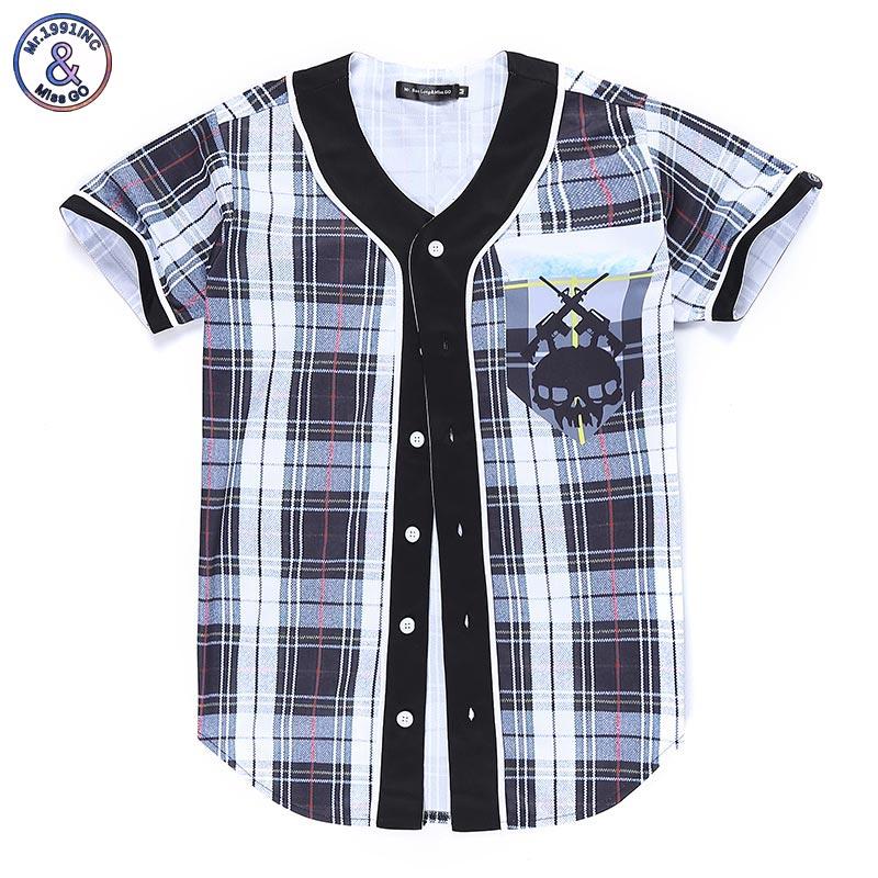 2017 Mr 1991INC Classical Plaid font b T shirt b font font b Men b font