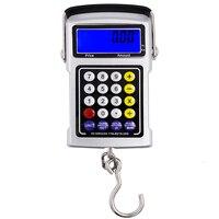 50 كيلوجرام/20 جرام multifunction الخطاف مقياس الالكترونية الرقمية المحمولة الخلفية مع مربع التجزئة سعر المصنع