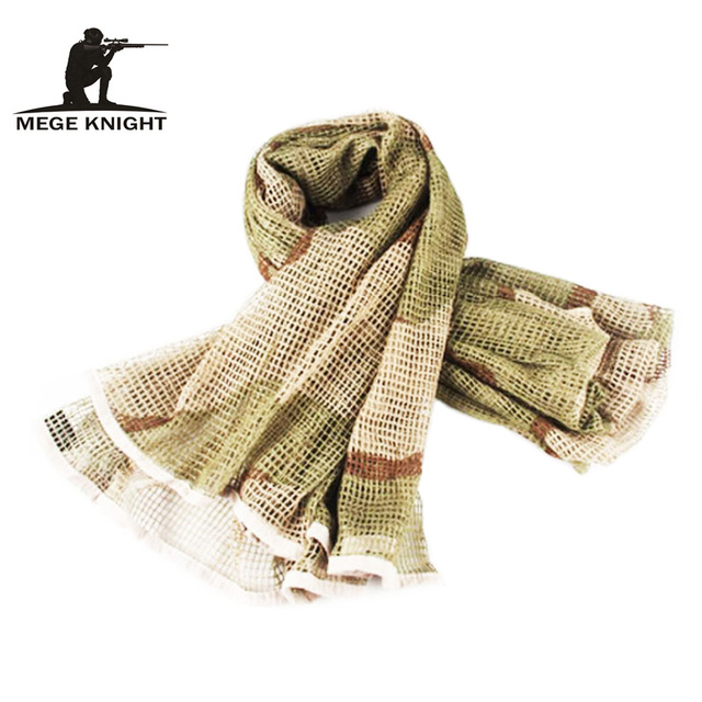 Camouflage Men Mesh Scarf Autumn Outdoor Jungle Warm Neck Army Muffler Scarfs Winter Mens Military Tactical Shawl Scarves Wrap