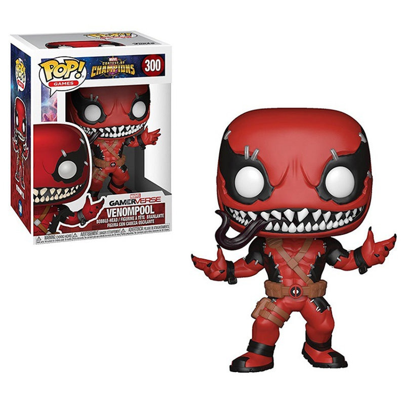 Us 92615 49 Offfunko Pop Contest Of Champions Venom Deadpool Marvel Avengers Action Figure Boy Toys For Children Birthday Gift In Action Toy