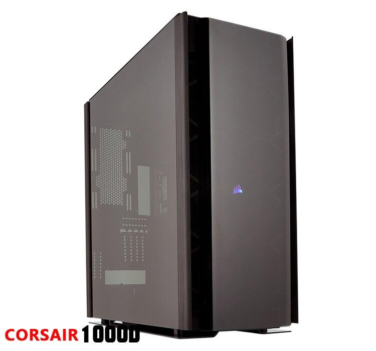 Купить с кэшбэком Barrow Acrylic Board as Water Channel use for CORSAIR 1000D Computer Case use for Both CPU and GPU Block RGB to 5V 3PIN Header