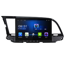 10.2 inch Android 6.0 Car DVD video Player For Hyundai Elantra 2016 car GPS Navigation bluetooth Radio wifi steering wheel