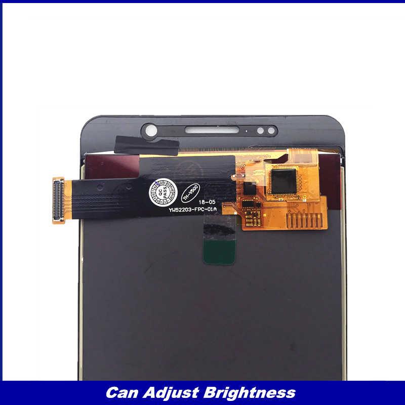 Czujnik A510 zamiennik LCD do Samsung Galaxy A5 2016 A510 A510F A510M LCD testowane wyświetlacz z ekranem dotykowym Digitizer zgromadzenia