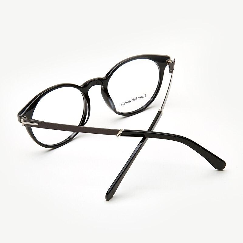 b9d5e57f6d6 Acetate Women Men Eyeglasses Clear Round Harry Potter Glasses Fashion Eye  glasses Frames for Men High Quality 1101G24-in Eyewear Frames from Men s  Clothing ...