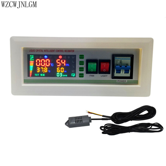 $ US $51.26 1 set New Design Xm-18SD Incubator Controller Thermostat Full Automatic And Multifunction Egg Incubator Control System