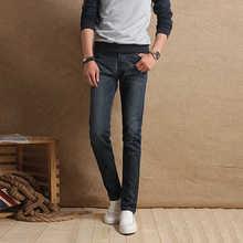 Бесплатная доставка! 2015 мужчин мода гетеросексуальных мужчин джинсы классические брюки осень зима мужчин джинсы высокое качество хлопок джинсы тонкий