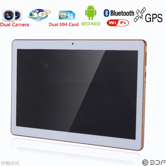 Classic 10 inch Original Dual sim card Android 4.4 Quad Core 1GB + 16GB CE Brand 3G Phone Call laptop WiFi  new Tablet pc tablet