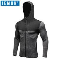 IEMUH Brand New Fashion Mens Hoodies Men Sweatshirt Male Hoody Hip Hop Autumn Winter Hoodie Mens
