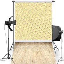 MEHOFOTO Floral Wall New Fabric Flannel Photography Background For Newborn Floor Vinyl Backdrop For Children photo studio F1233 цена