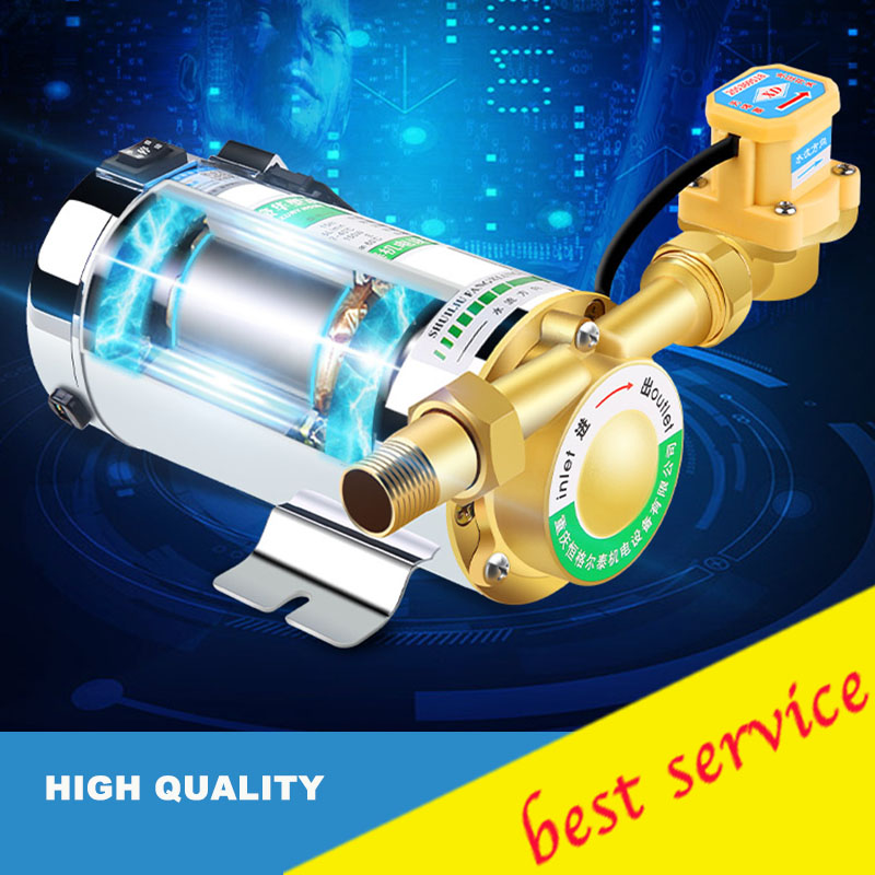 Newly 100W mini household booster water pump water circulation pressure pump for shower heating water pressure booster pump reorder rate up to 80% water circulation pressure pump for shower heating