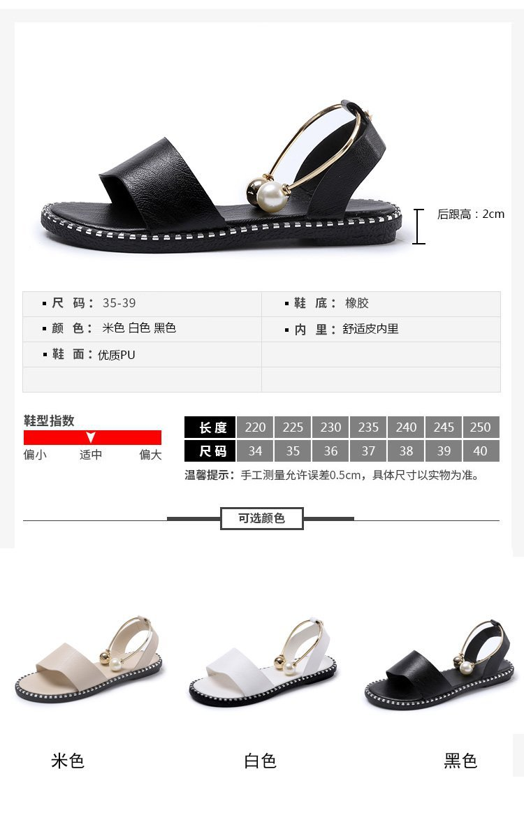HOKSVZY 2019 Sandals Flip Flops New Summer Fashion Rome Slip-On Breathable Non-slip Shoes Woman Slides Solid DFGD-A12
