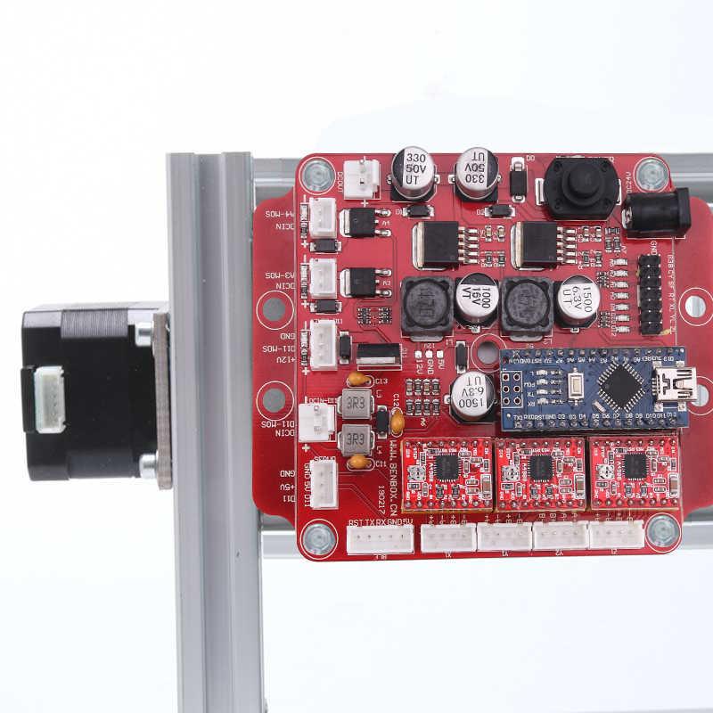 CNC Router... 3018 ER11 GRBL sterowania obrabiarka CNC DIY 3 osi frezarka modelarska pcb frezarka do drewna laserowa maszyna grawerująca