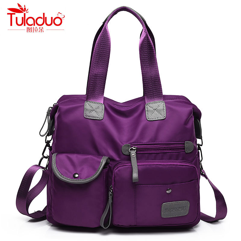 2020 Waterproof Oxford Women Crossbody Bag Designer Large Capacity Ladies Shoulder Bag High Quality Multi-pocket Women Handbags
