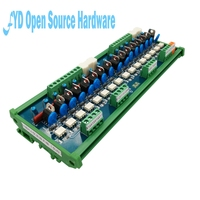 16 channel PLC negative control AC amplifier board supports PNP and 0V trigger relay module driver board
